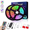 LED Strip Light 32.8 ft(10m) REETWO RGB SMD 5050 LED Rope Lighting Color Changing,with 44-Keys IR Remote Controlled LED Strip Kit