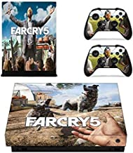 Shooter game Xbox One X Skin Set Full Faceplates Skin Console & Controller Decal Stickers by Mr Wonderful Skin