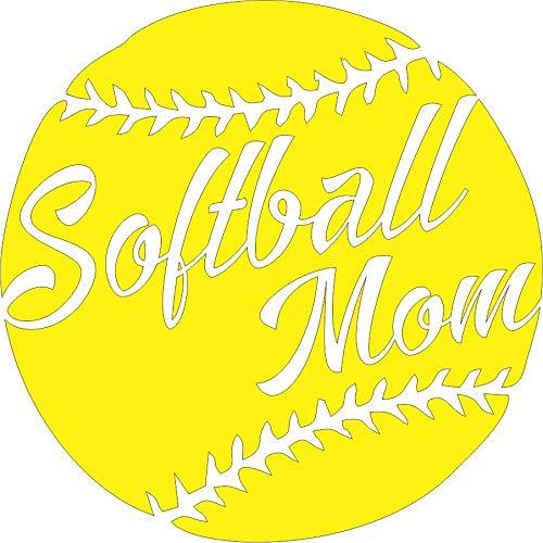 softball window decals - 2
