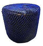 Rete da fieno per fieno con fori da 5,1 cm, misura 1,5 m x 1,2 m