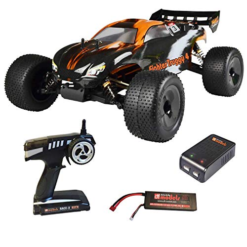 DF RC FighterTruggy 4 Brushless RTR waterproof inkl. Lipo Akku, Lade.*