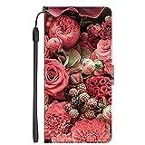 LTao-case S-M9 Coque pour Huawei P10 Lite Flip Cuir PU Leather + Coque Souple en Silicone TPU