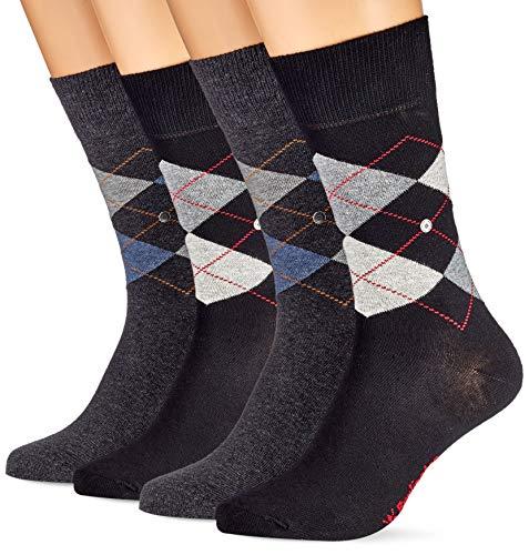 Burlington Herren Basic Gift Box M SO Socken, Mehrfarbig (Sortiment 20), 40-46 (UK 6.5-11 Ι US 7.5-12) (2er Pack)