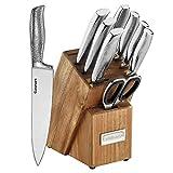 Cuisinart Elite Series Set de Cuchillos Colección Martillada 10 Piezas