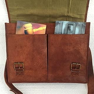 PL Leather Messenger Bag 16