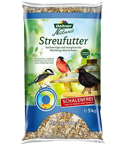 Dehner Natura - Comida para Aves Silvestres, sin cáscara ⭐