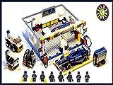 DIY Sluban F1 Racing Track Maintenance Blocks Stop Motion Review