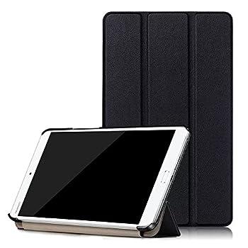 Kepuch Custer Case for Huawei MediaPad M3 8.4,Ultra-Thin PU-Leather Hard Shell Cover for Huawei MediaPad M3 8.4 - Black