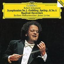 Schumann: Symphonies 1 & 4 / Manfred Overture