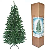 1.2m Artificial Christmas Tree Green 230 Pines Tree with Metal Stand 4ft Bushy Looking Xmas Home Decor