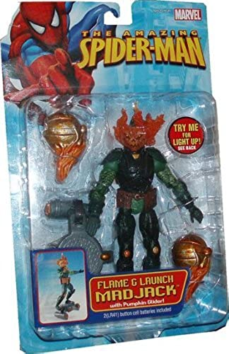 mejor calidad The Amazing SpiderMan Action Figure Flame Launch Mad Jack by by by Spider-Man  increíbles descuentos