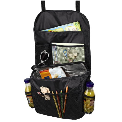 Hama Rückenlehnenschutz (Rücksitztasche mit Isolierfach) schwarz