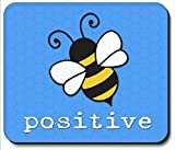 Art Plates Brand Mouse Pad - Bee Positive