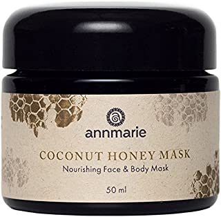 Annmarie Skin Care Coconut Honey Mask - Extra Virgin Coconut Oil Mask with Mountain Wildflower Honey (50 Milliliters, 1.7 Fluid Ounces)