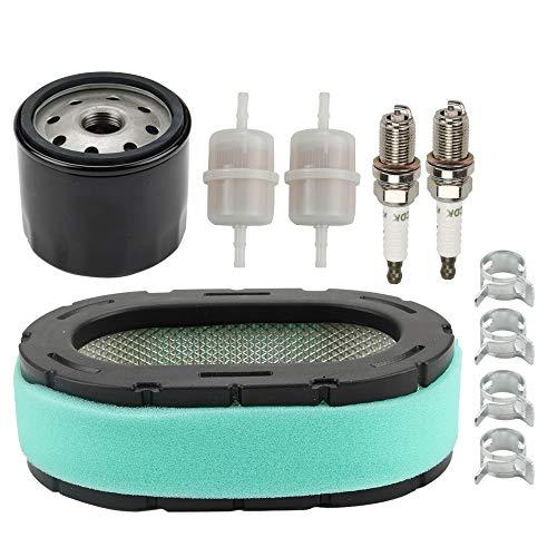 Powtol 32 083 09-S Air Filter + 12 050 01-S Oil Filter for Kohler 32 083 09 32 883 09-S1 KT610 KT620 KT715 KT725 KT730 KT735 KT740 KT745 19HP-26HP Engine
