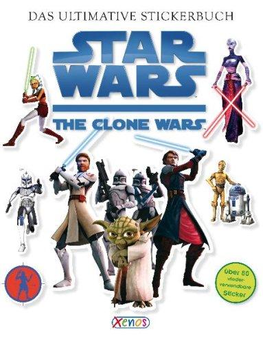 Star Wars - The Clone Wars: Das ultimative Stickerbuch.