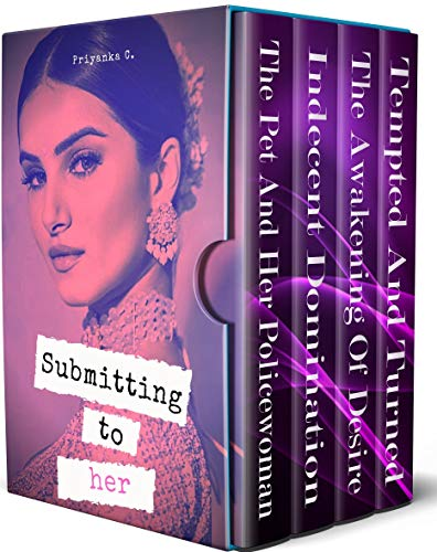 Submitting To Her: 4 Book Lesbian Domination Boxset (500 pages)