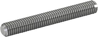 J.W. Winco 551.1-M6-60-NI GN551.1 Fully Threaded Stud, M6 x 60 mm Length, Stainless Steel European Standard 1.4305 (American Standard 303)