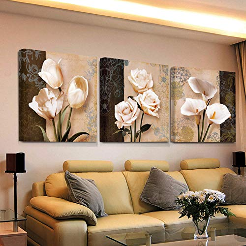 Cuadros Modernos Baratos Flores cuadros modernos baratos  Marca Swallow