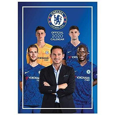 Official Chelsea FC (Premier League) 2020 Soccer Calendar (A3)