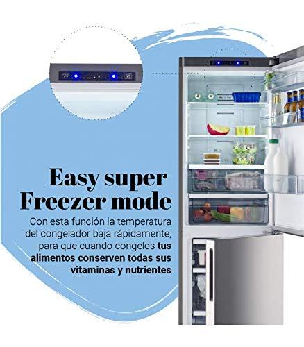 Universal Blue - Frigorífico Combi No Frost INOX: Amazon.es ...