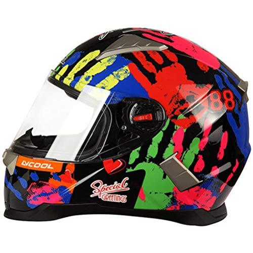 Helm Integral Mountainbike Integral Motorradhelm Motocross Racing Sonnenblende Mann Frau ECE geprüft