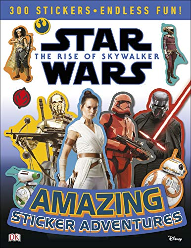 Star Wars The Rise of Skywalker Amazing Sticker Adventures (Star Wars the Rise of Skywalkr)