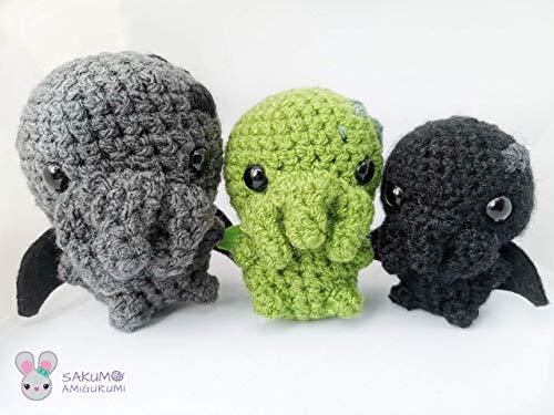 Cthulhu Amigurumi Plüsch Lovecraft Gothic
