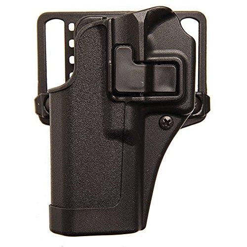 BLACKHAWK 410565BK-L Springfield XDS Left Hand Standard CQC .45 Caliber Holster, Size 9