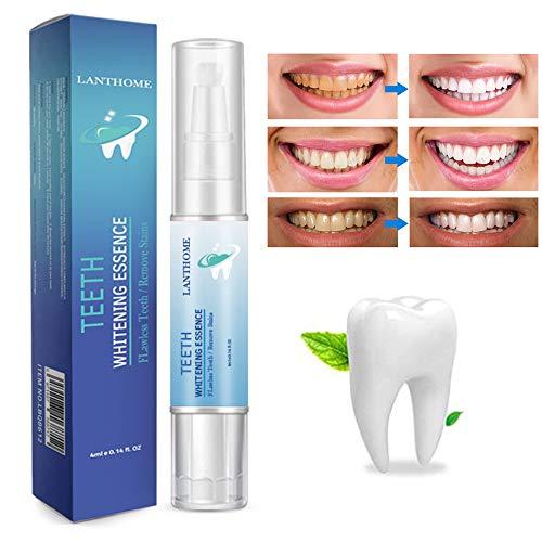 Zahnaufhellungsstift, Zahnaufhellungsstift-Kits, Zahnaufheller, Effektiv & Schmerzfrei, ohne Empfindlichkeitsformel, Sicher und Schnell, ohne Geschmack - 4 ml * 2 Stück