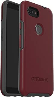 OtterBox Symmetry Series Case for Google Pixel 3a - Retail Packaging - FINE Port (Cordovan/Slate Grey)