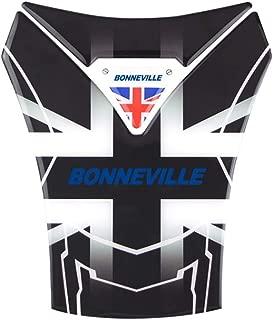 PRO-KODASKIN Motorcycle 3D Real Carbon Tank Pad Sticker Decal Emblem GRIPPER STOMP GRIPS EASY For Triumph Bonneville T100 Bnneville SE Bonneville