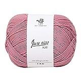 Janly Clearance Sale Lana para tejer, hilo de algodón, lana para bebé, tejido a mano en lana gruesa, línea de bufanda, poliéster, textiles de ganchillo para matar tiempo y pasatiempos (J)