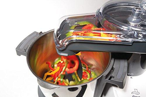 Kenwood Kcook Multi CCL401WH–Küchenmaschine mit integriertem Zerkleinerer, weiß und schwarz - 2
