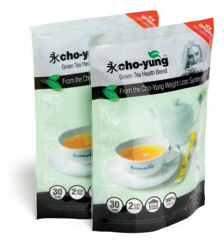 Cho-Yung Premium Weight Loss Slimming Tea 60 Day Detox Cleanse Green Herbal...