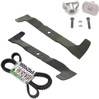 Juego de reparación de cuchillos para Castel Garden TwinCut Honda Iseki Brill (102 cm)