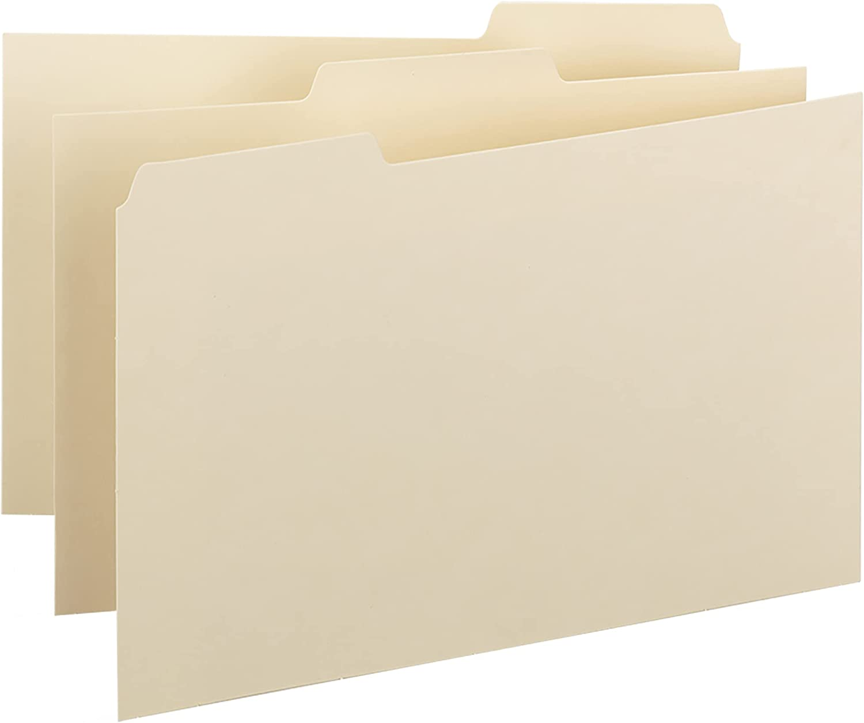 Las Vegas Mall Smead Card Guide Plain 1 3-Cut x Tab 4