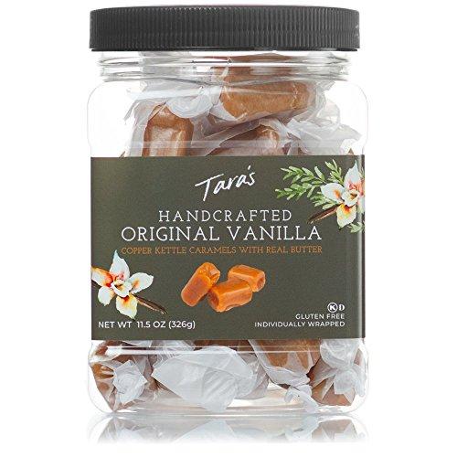 Tara's All Natural Handcrafted Gourmet Original Madagascar Vanilla Caramel, Original Vanilla, 11.5 Ounce from Mrs. Call's Candy
