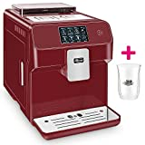 ONE TOUCH Kaffeevollautomat 1 Thermoglas Gratis CAFE BONITAS Kingstar Rubin Touchscreen Timer 19 Bar Kaffeeautomat Latte Macchiato Kaffee Espresso Cappuccino heißes Wasser Milchschaum