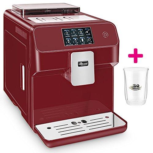 ☆ONE TOUCH☆ Kaffeevollautomat✔ 1 Thermoglas Gratis✔ CAFE BONITAS✔ Kingstar Rubin✔ Touchscreen✔ Timer✔ 19 Bar✔ Kaffeeautomat✔ Latte Macchiato✔ Kaffee✔ Espresso✔ Cappuccino✔ heißes Wasser✔ Milchschaum✔