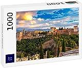 Lais Puzzle Granada con la Alhambra 1000 Piezas