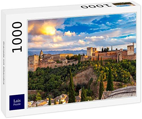 Puzzle Granada con la Alhambra 1000 Piezas