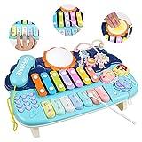 Lictin Juguete Musical para Bebés-Juguete Musical de Piano para Bebés Niños y Niñas con Baquetas...