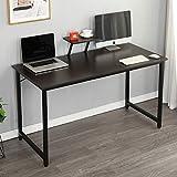 SDHYL 47.2 inches Computer Desk Home Office Workstation Large Laptop Desk, Black, S7-WK-JK120-BK-US