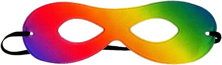 Adult Green//Yellow Reversible Superhero Mask ~ HALLOWEEN COSTUME PARTY EYE MASK