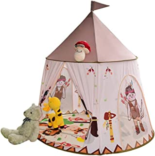 Tienda de campaña infantil para interiores, castillo de princesa Pony, castillo de juguete, casita masculina y femenina, regalo de cumpleaños para bebés apto para interiores y exteriores