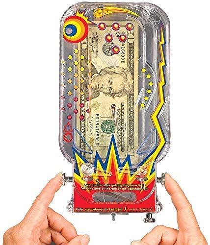 BILZ Money Maze - Cosmic Pinball for Cash, Gift Cards and Tickets, Fun Reusable Game