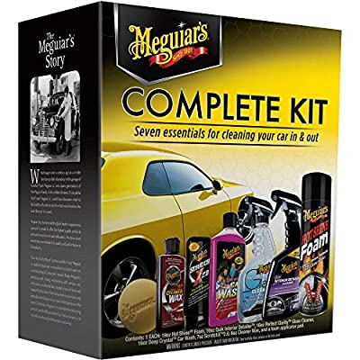 MEGUIARS WAX Complete Car Care Kit