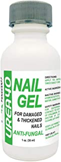 UREA Nail Gel 1 Oz 40% Hard Nail Softener Quick Drying Anti Fungal For Soft And Brittle Free Nails For Fingernails & Toenails Superior To Creams Easy Brush Applicator Quick Drying