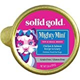 Solid Gold Mighty Mini Grain And Gluten Free Wet Food With Chicken, Salmon & Vegetables In Gravy - 12Ct/3.5Oz Cup